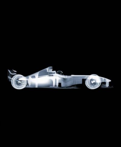 Nick Veasey - F1 (from side), AP