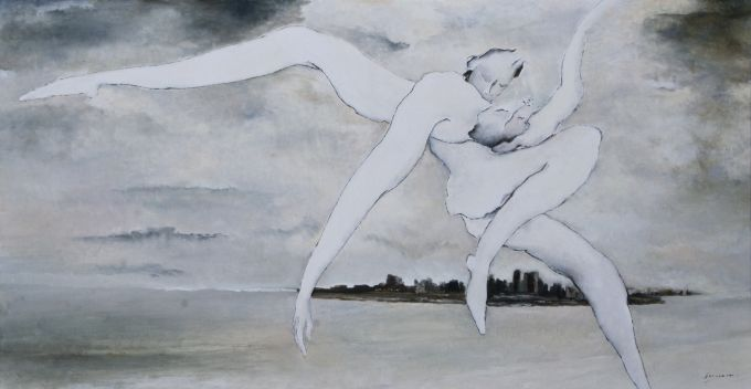 Diane Desmarais - And in a swirl, I caught you, carried you...