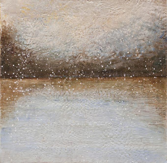 Susan Wallis - Niveous lake