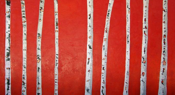 Susan Wallis - Brazenly Red