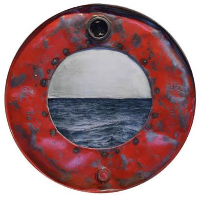 Amelie Desjardins - Through the port hole V