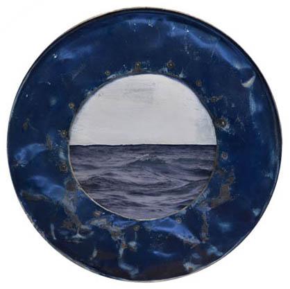 Amelie Desjardins - Through the port hole VIII