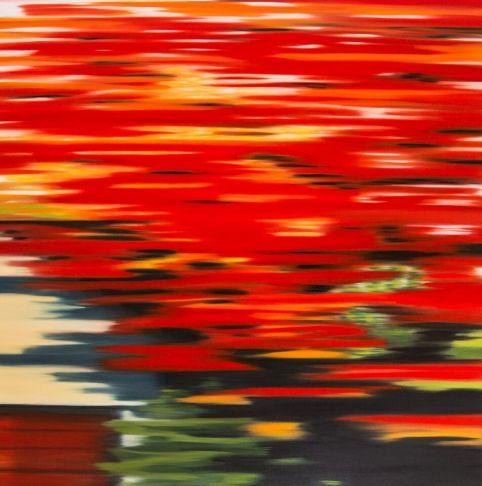 Patricia Morris - Arbres rouges II - Red Tree II, NB