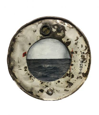 Amelie Desjardins - Through The Port Hole XV