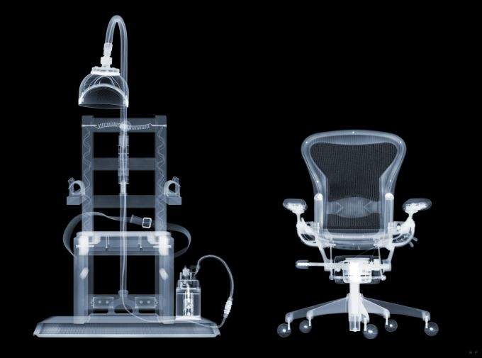 Nick Veasey - Electric Chair, AP