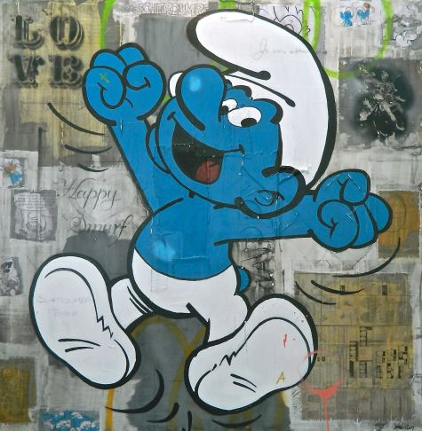 Rock Therrien - Happy smurf!