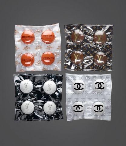 Desire Obtain Cherish - Designer Drugs Soft Pack of 4, Series de/of 10