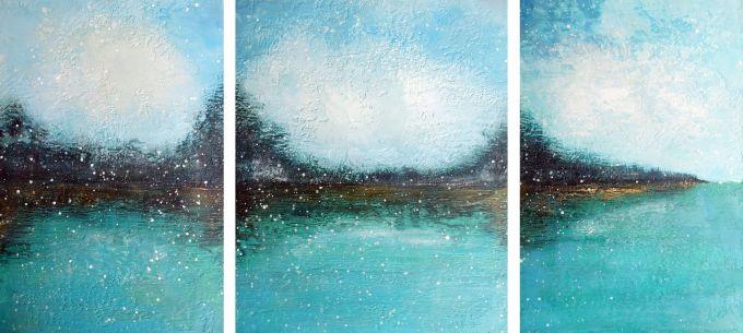 Susan Wallis - Gently Triptych
