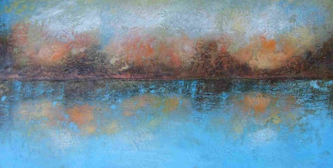 Susan Wallis - Lake musings