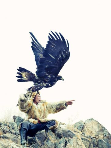 Lyle Owerko - Eagle Hunter 16