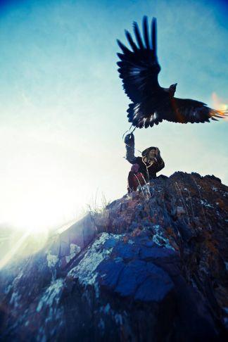 Lyle Owerko - Eagle Hunter 8