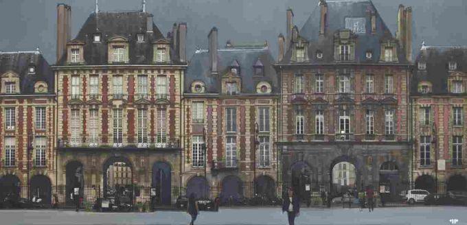 Patrick Pietropoli - Place des Vosges