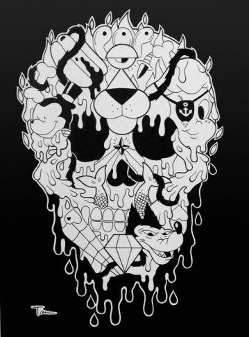 Antoine TAVA - Pop Skull