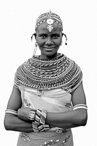 Lyle Owerko - Young Samburu Woman