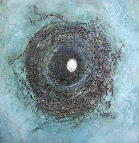 Susan Wallis - Seculsion in blue