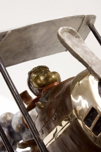 Rock Therrien - Go for It! Bronze (Détail)