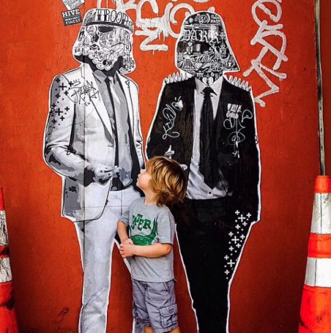 Stikki Peaches - That's not a storm trooper mama! Los Angeles