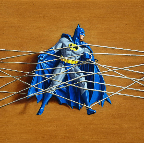 Simon Monk - Trapped Batman no.2
