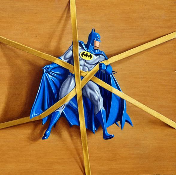Simon Monk - Trapped Batman no.4