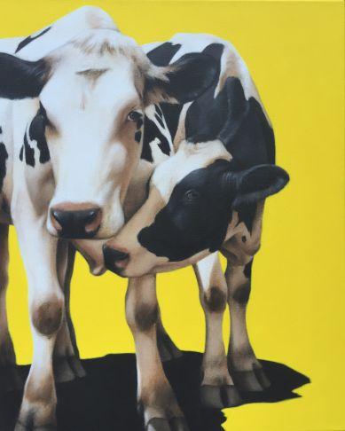 Éloïse Brodeur - Two Cows in Love