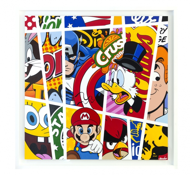 Guy Boudro - Comic Stripes No 6