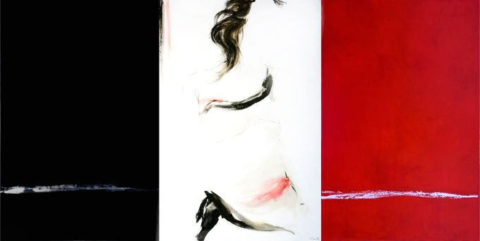 Lucille Marcotte - Entre le rouge et le noir (Triptyque)