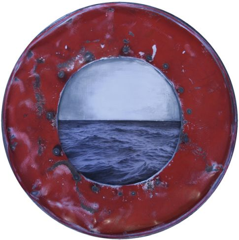 Amelie Desjardins - Through the port hole III