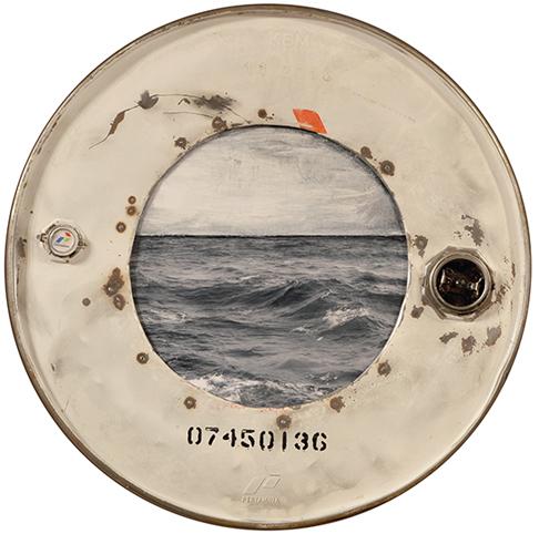 Amelie Desjardins - Through the port hole IV