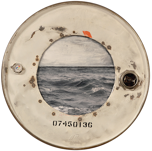 Amelie Desjardins - Through the port hole I