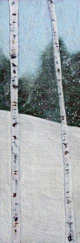 Susan Wallis - Winter's Blue Solitude II