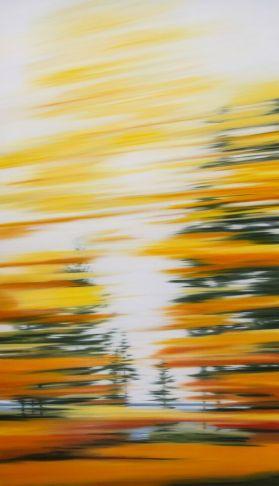 Patricia Morris - Rive d'automne - Autumn Shore, QC
